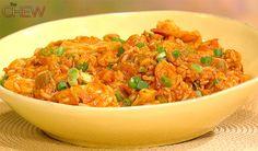 John Besh's Shrimp, Chicken, and Andouille Jambalaya #thechew