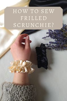 Silk Satin Fabric, Woven Fabric, Diy Hair Scrunchies, Hair Rubber Bands, Hand Embroidery Art, Hair Jewels, Headband Styles, Hair Ties, No Frills