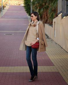 BeTrench: Capa de lana camel