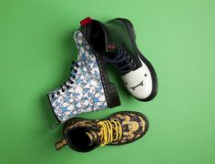Oh my glob! The second Dr Martens Adventure Time collection has arrived!