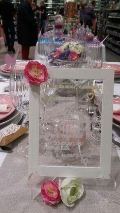Salon du mariage 2015. Table bohème.