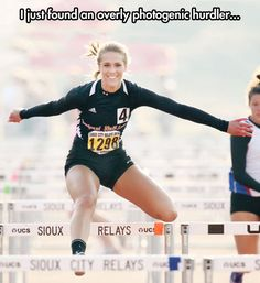 Overly Photogenic Hurdler