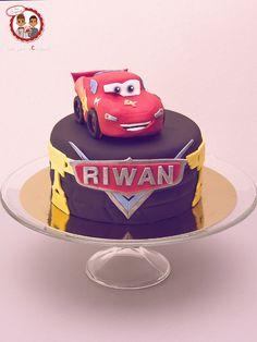 Cars cake - Gâteau Flash McQueen - Un Jeu d'Enfant Cake Design Nantes France