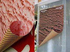 Ice cream advertising