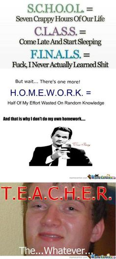 Hilarious Homework Excuses   Edutopia Daily Mail American Warrior Revolution on Facebook  Get your Warrior Gear at  Awrgear com