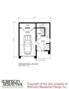 Plans Architecture, Residential Architecture, Garage House Plans, House Floor Plans, Architectural Technologist, Mechanical Room, Building A Container Home, Contemporary House Plans, Minimalist House Design