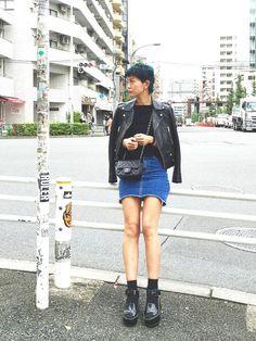 橋本江莉果さんの(SAINT LAURENT PARIS)を使ったコーディネート