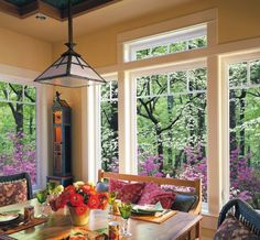 Family kitchen patio and ultra series on pinterest for Milgard vinyl windows