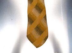 Silk Skinny Vintage Necktie by bobbysBoutique on Etsy, $20.00