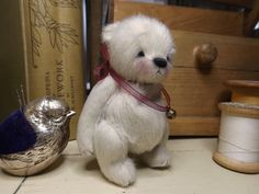 Pip Squeak, miniature bear by Barney Bears