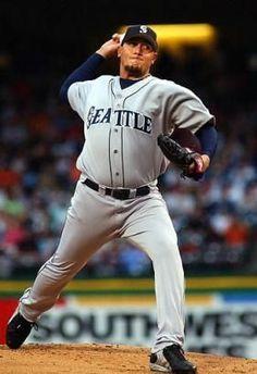 Freddy ''The Torpedo'' García Mlb, Seattle Mariners, Baseball Cards, Sports, Tops, Hs Sports, Sport