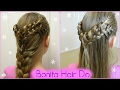 Ring Arround the Twist / Holiday Hairstyles / Bonita Hair Do - YouTube