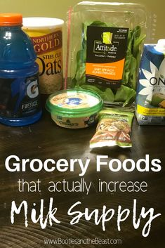 If you don't want to spend lots of money on different breastfeeding supplements then going to the grocery store is ideal. Heres a list of items available in the grocery store for breastfeeding moms to increase breast milk supply. Breastfeeding Supplements, Breastfeeding Tips, Breastfeeding Nutrition, Breastfeeding Positions, Brave, Increase Milk Supply, Boost Milk Supply, Milk Production Increase, Hummus