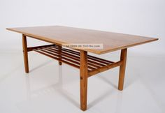 Teak 60er Coffee Table Danish Design Couchtisch Tisch Table 60s A 60 Tavolo 1960-1969 Bild