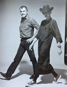 Meet Franco Moschino, the man who brought fun into fashion. Here in 1983 after his first fashion show. From L'Europeo magazine edition no3