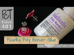 Poly Bonder Glue by Lisa Pavelka for Polymer Clay http://www.beadsandbeading.com/blog/lisa-pavelka-poly-bonder-glue-polymer-clay/17352/