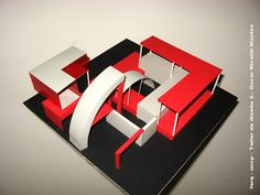TALLER DE DISEÑO 2 FARQ-UNCP: octubre 2008 Concept Models Architecture, Architecture Design, Urban Rooms, Playground Set, Eden Project, Graduation Project, Architectural Elements, Urban Design, Abstract Art