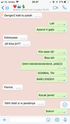 Jokes Quotes, Me Quotes, Text Pranks, Relationship Goals Tumblr, Funny Chat, Message Quotes, Wonder Quotes, Quotes Indonesia, People Quotes