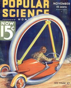 Archive Gallery: The Many Incarnations of the Monowheel | Popular Science