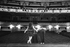 Oh my word!!  This has got to be one of my FAVORITE engagement pictures.  I love the theatre and my heart skipped a beat when I saw my neice, Morgan Trinker, got to do a photo session at a theatre in Memphis.  The couple rented the theatre out for this session.....AMAZING!