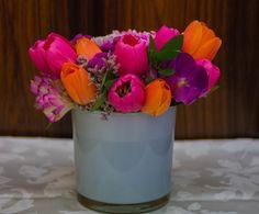 Winter flower arrangment