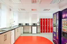 Booth Industries staff canteen