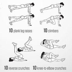 Trainingspläne für zu Hause