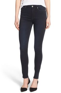 Cheap Monday High Rise Skinny Jeans (OD Blue) available at #Nordstrom
