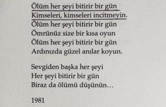 şiir | Tumblr Literature Books, Book Quotes, Cool Words, Books To Read, Cool Designs, Poems, Feelings, Sayings, Reading
