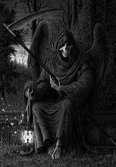 Requiem (Illustration) by Carlos Quintana