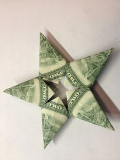 Made By Megan: Money Oragami!