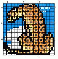 64 Free cross stitch designs foxes tigers lions stitchingcharts borduren gratis borduurpatronen vossen leeuwen tijgers kruissteekpatronen