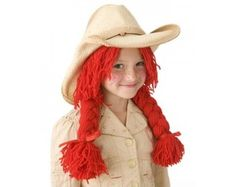 Cowgirl Wig Pattern (Crafts)