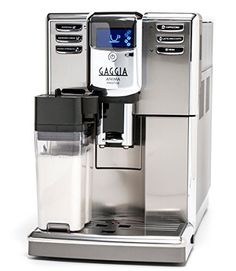 Enjoy exclusive for Gaggia Anima Prestige Automatic Coffee Machine, Super Automatic Frothing Latte, Macchiato, Cappuccino Espresso Drinks Programmable Options online - Chicprettygoods Commercial Espresso Machine, Espresso Machine Reviews, Best Espresso Machine, Cappuccino Machine, Espresso Drinks, Espresso Coffee, Best Coffee, Coffee Drinks, Espresso Maker