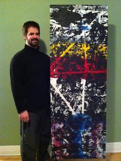 2008 - Titre : 3_4 Les Oeuvres, Painting, Art, Toile, Art Background, Painting Art, Kunst, Paintings, Performing Arts