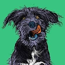 Image result for pop art dog paintings