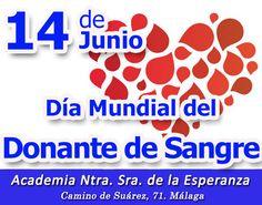 "14J: Día Mundial del #Donante de #Sangre ""Podemos salvar muchas vidas"" Más info: https://www.acesperanza.com/3354-2/ #DiaMundialdeldonantedesangre"