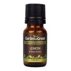 Amazon.com: Lemon Essential Oil (100% Pure and Natural, Therapeutic Grade) from Garden of Green: Beauty