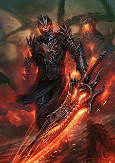 Medieval fantasy art knights armors 32 ideas for 2019 Fantasy Art Warrior, Fantasy Armor, Fantasy Weapons, Dark Fantasy Art, Medieval Fantasy, Fantasy Kunst, Dark Warrior, Fantasy Character Design, Character Art