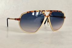 Alpina Gold Vintage Sunglasses West Germany New Old Stock Full Set including Case, Box and Leaflet Vintage Sunglasses, Full Set, Sunnies, Dan, Gold, Germany, Shades, Etsy, Business