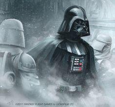 Star Wars: TCG - Darth Vader by AnthonyFoti.deviantart.com