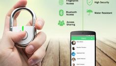 The TappLock Opens With A Tap Of Your Finger