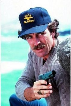 Magnum P.I. actually Tom Selleck.