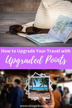 How To Upgrade Your Travel With Upgraded Points Want to know my secret to traveling the world for free? I use Upgraded Points to help maximize my travel rewards and airline/hotel loyalty points! Solo Travel Tips, Travel Advice, Travel Guides, Travel Hacks, Travel Gadgets, Cheap Travel, Budget Travel, Travel Chic, Travel With Kids