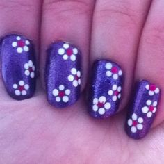 Violet + flowers