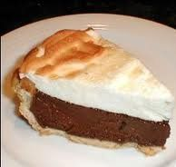 Nothing beats a good chocolate pie