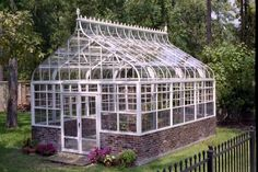 If the conservatory isn't in the budget for now, this greenhouse should make any gardener happy! Description from pinterest.com. I searched for this on bing.com/images