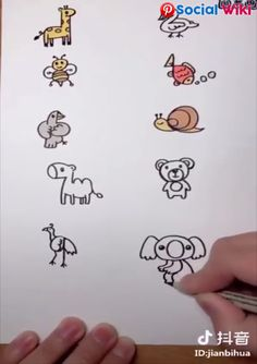 Easy drawing tips! Easy drawing with numbers! Source by socialwiki. Drawing For Kids, Drawing Tips, Art For Kids, Kids Fun, Easy Drawings For Kids, Drawing Ideas, Diy Arts And Crafts, Fun Crafts, Crafts For Kids