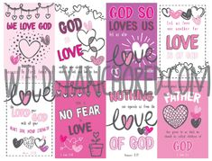 Christian Valentine's Day Cards Printables