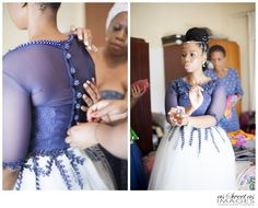 Katlego & Lebogang's Traditional Wedding {Rustenburg} African Traditional Wedding Dress, Traditional African Clothing, African Wedding Dress, African Print Dresses, African Print Fashion, African Fashion Dresses, African Dress, Traditional Outfits, African Clothes